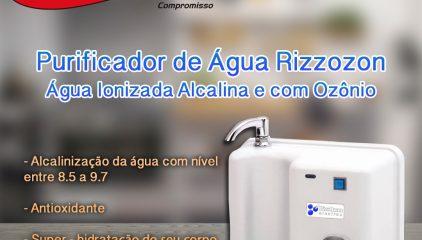 Tenha Água Alcalina com Ôzonio!